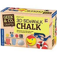 3D Sidewalk Chalk Product Image Downloads