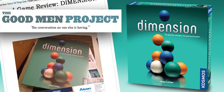 Dimension on The Good Men Project