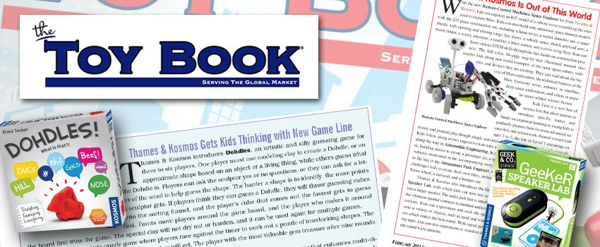 T&K in Toy Book's Post-Toy Fair Issue
