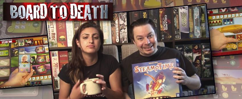 BoardtoDeathTV reviews Steam Time