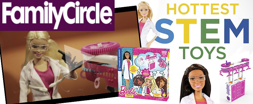 FamilyCircle: Barbie Among the Hottest STEM Toys