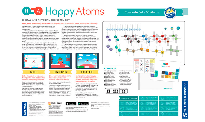 Science Kits Happy Atoms Complete Set