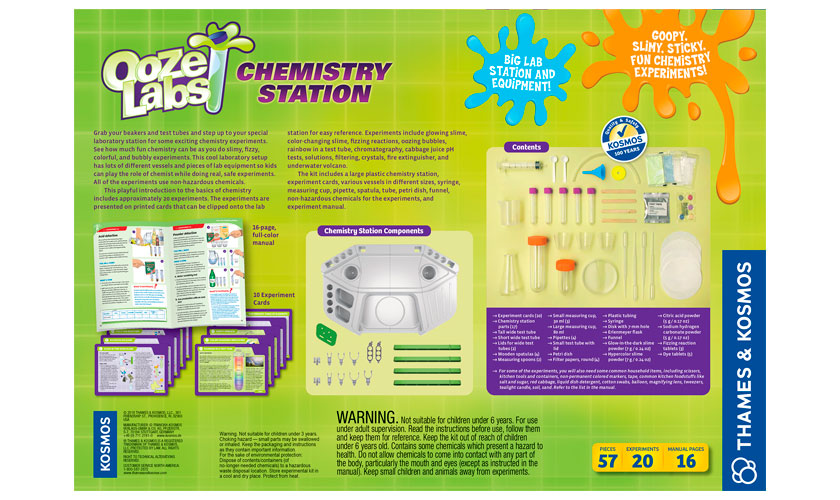 Science Kits: Ooze Labs Chemistry Station
