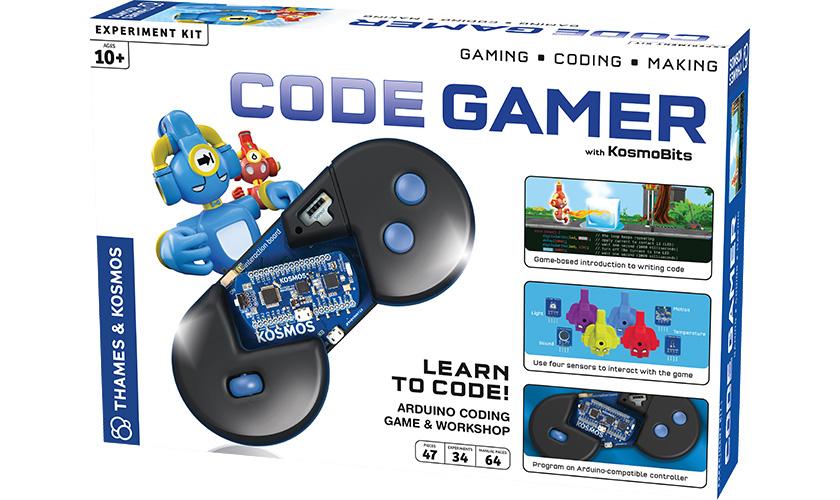8 to 10: CodeGamer