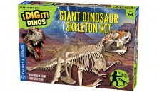 I Dig It! Dinos - Giant Dinosaur Skeleton Kit