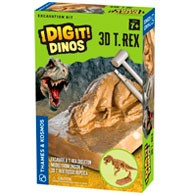 3D T. Rex Excavation Kit Product Image Downloads
