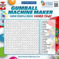 Gumball Machine Maker Word Find (ACTIVITY)