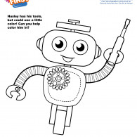 Kids First Huxley Coloring Page (ACTIVITY)
