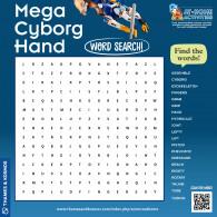 Mega Cyborg Hand Word Search (ACTIVITY)