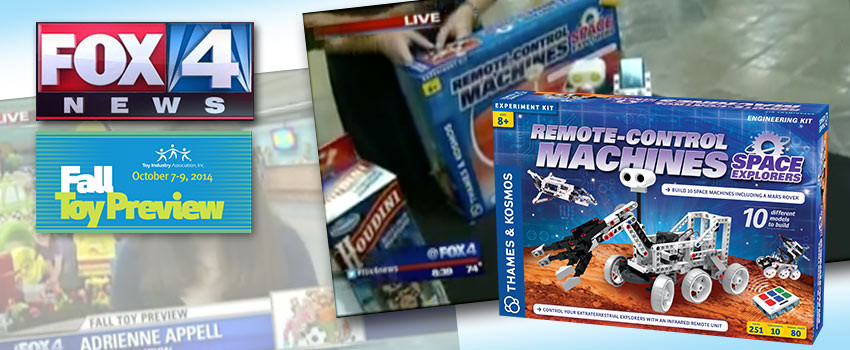Remote-Control Machines: Space Explorers at Dallas Fall Toy Preview