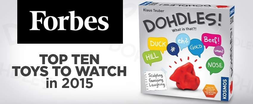 Dohdles! Makes Forbes.com's Top Ten Toys to Watch in 2015