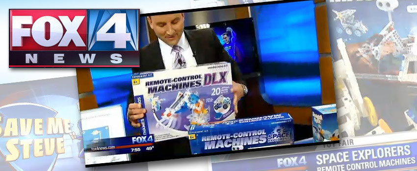 Remote-Control Machines Kits on FOX Dallas' Top Toys for Toy Fair 2015