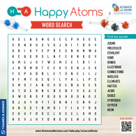 Happy Atoms Word Search (ACTIVITY)