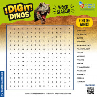 I Dig It! Word Search (ACTIVITY)