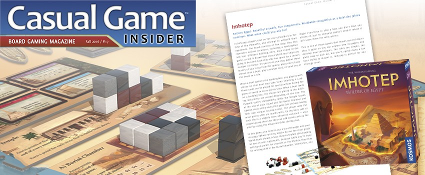 Casual Game Insider reviews Imhotep