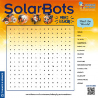 SolarBots Word Search (ACTIVITY)