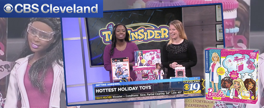 CBS Cleveland's Smartest STEM Toys include Barbie STEM Kit