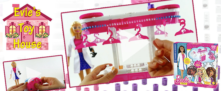Evies Toy House unboxes the Barbie STEM Kit