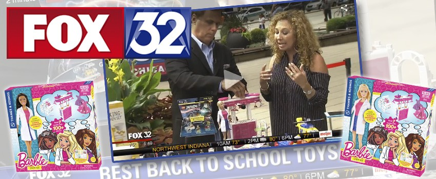 Barbie STEM Kit mentioned in Fox 32 Chicago's Best Back to School Toys