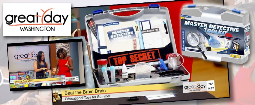 Master Detective Toolkit featured in: Toys to beat the summer brain drain