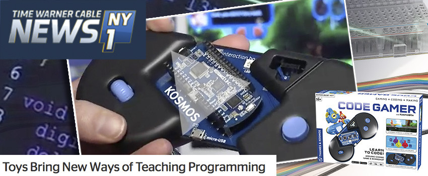 NY1 includes CodeGamer in its Talk Tech report