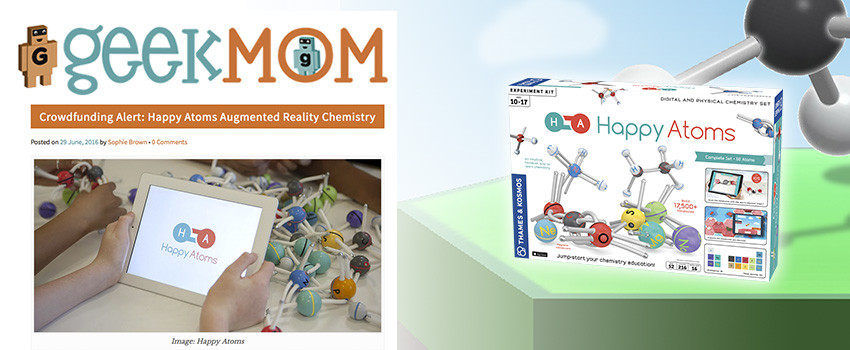 GeekMom raves about Happy Atoms