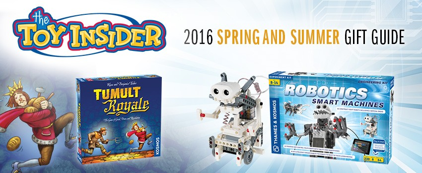 Tumult Royale and Robotics: Smart Machines in TI's 2016 Gift Guide